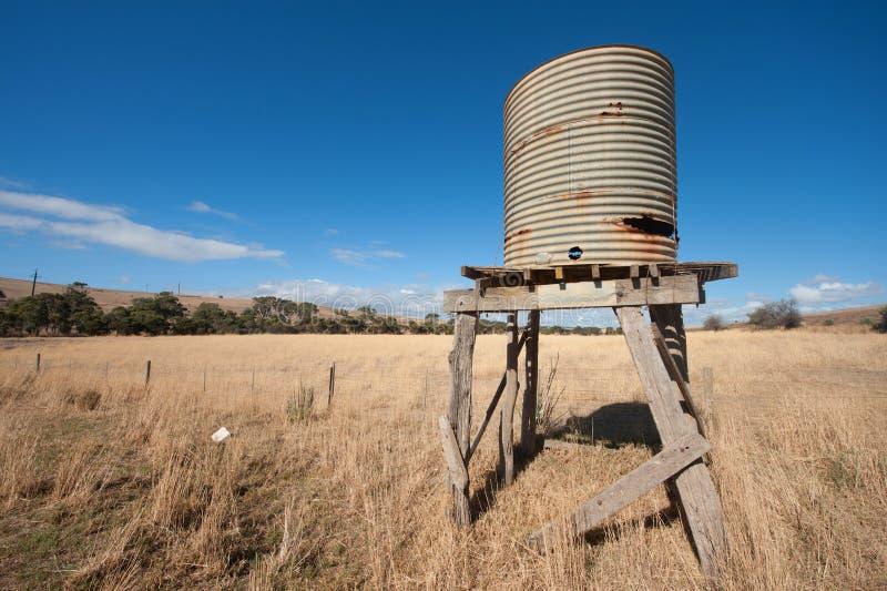 澳大利亚农村场面 免版税库存图片