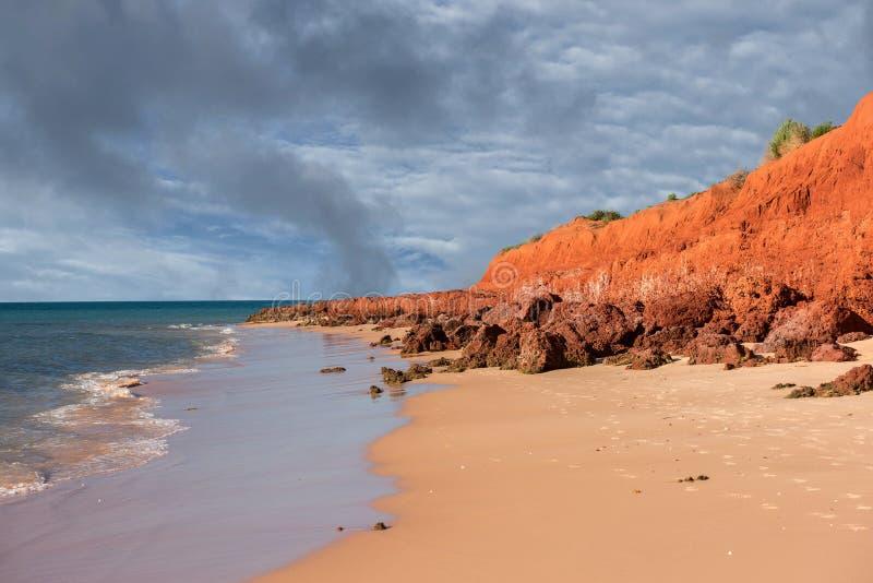 澳大利亚北方领土风景弗朗索瓦peron公园 免版税图库摄影