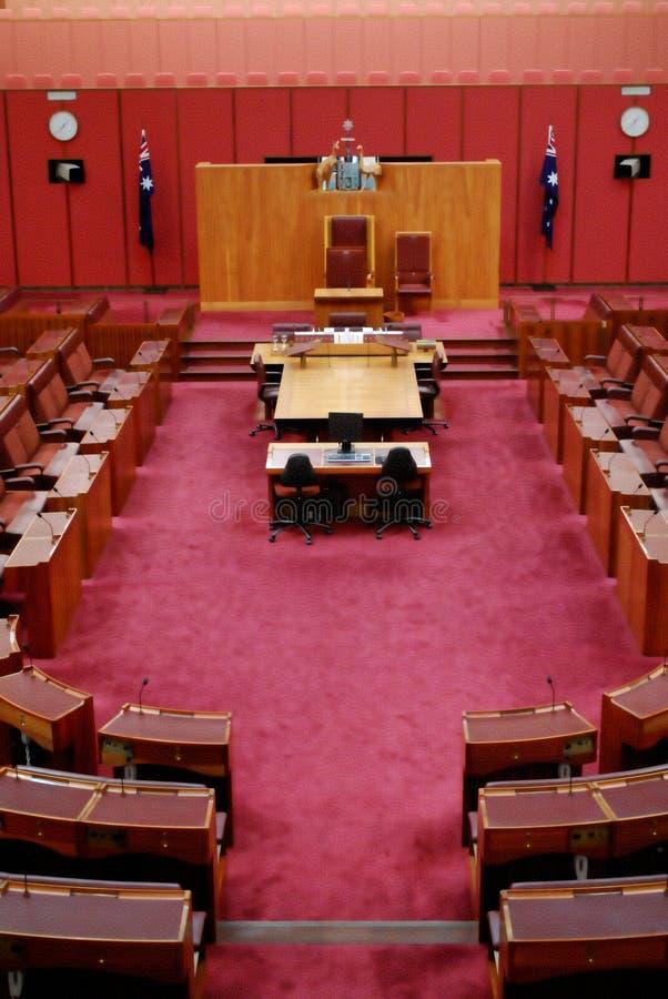 澳大利亚参议院 库存图片