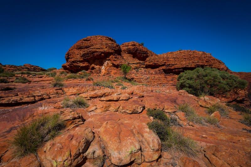 澳大利亚在内地风景视图 图库摄影