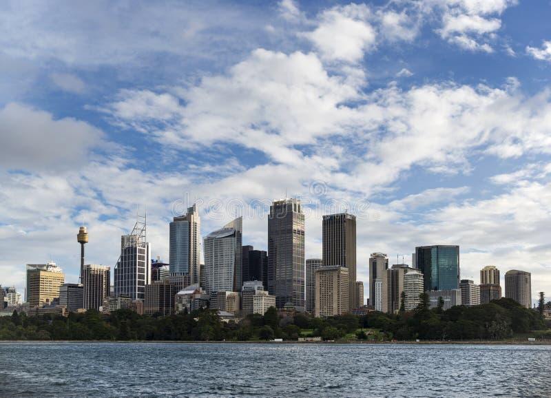澳大利亚悉尼市CBD 免版税库存照片