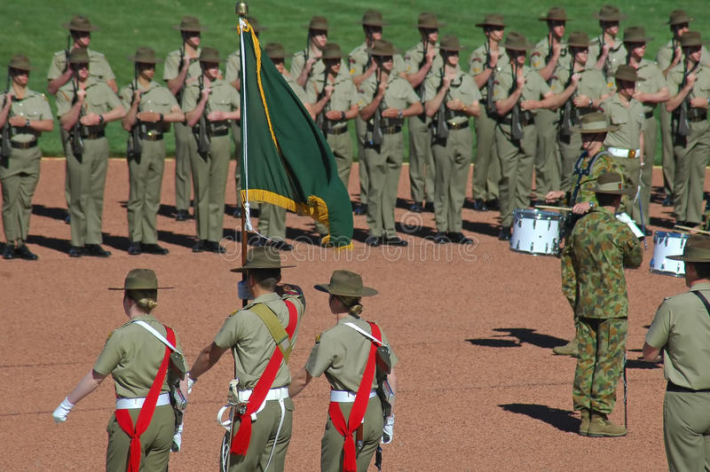 澳大利亚战士 库存图片
