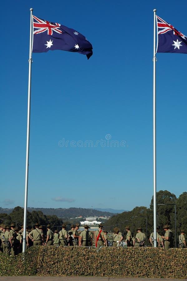 澳大利亚战士 图库摄影
