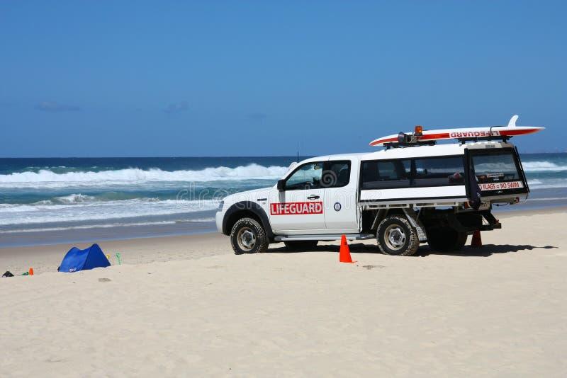 澳大利亚救生员 免版税库存照片