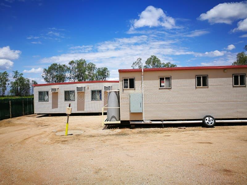 澳大利亚有蓬卡车公园适应 免版税库存图片