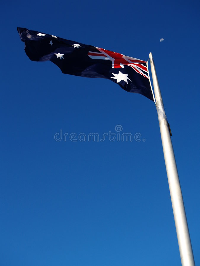 澳大利亚标志月亮 库存照片