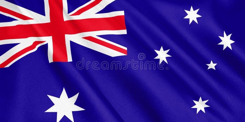 澳大利亚沙文主义情绪与风 向量例证