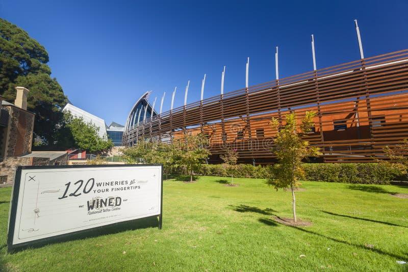 澳大利亚的国家酒中心在阿德莱德 库存照片