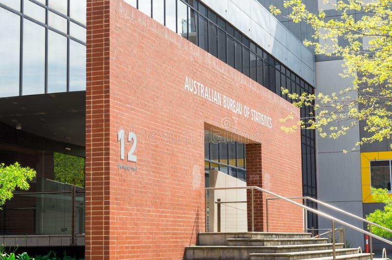 澳大利亚统计局吉朗办公室在澳大利亚 库存图片