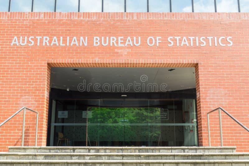澳大利亚统计局吉朗办公室在澳大利亚 免版税库存照片