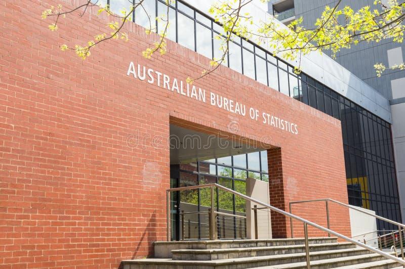 澳大利亚统计局吉朗办公室在澳大利亚 免版税图库摄影