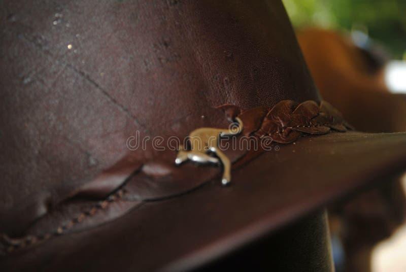 澳大利亚袋鼠帽子 图库摄影