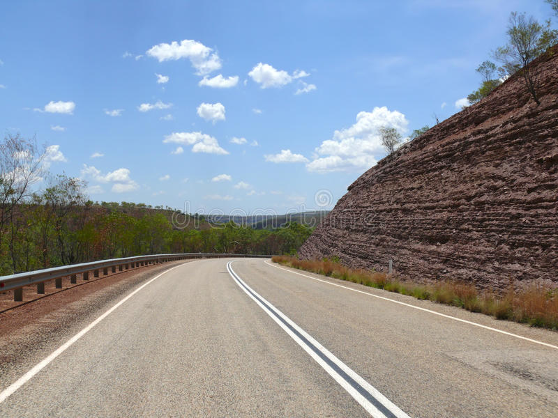 澳大利亚西部,金伯利。 库存照片