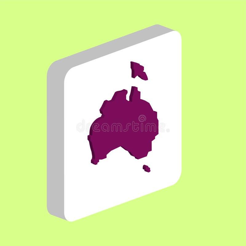 澳大利亚计算机标志 皇族释放例证