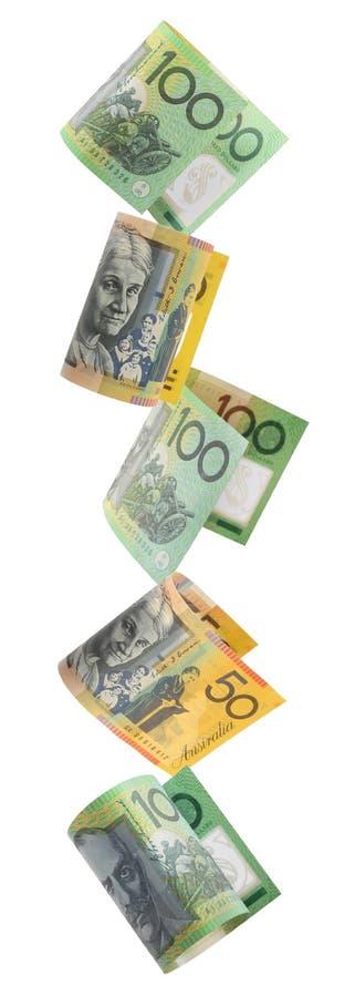 澳大利亚边界货币 库存图片
