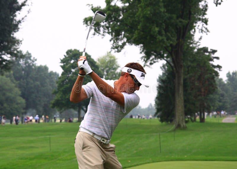 澳大利亚高尔夫球运动员罗伯特・阿伦比 免版税库存照片