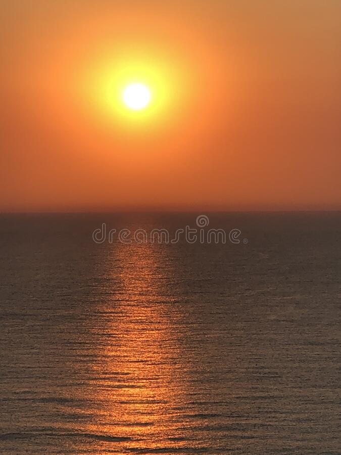 澳大利亚黄金海岸日起照 图库摄影
