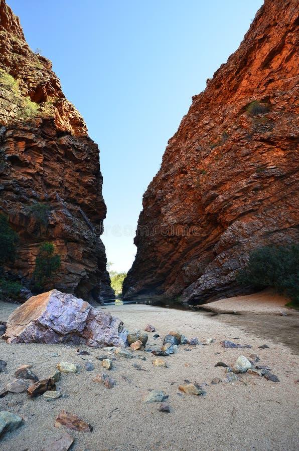 澳大利亚,北方领土,在内地 库存图片