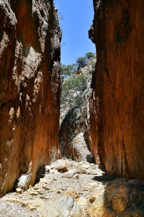 澳大利亚,北方领土,麦道排列, Standley峡谷 库存图片