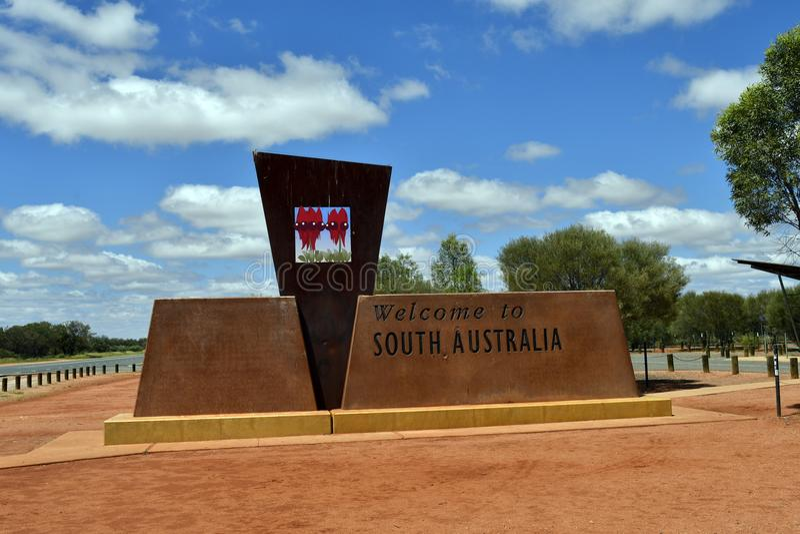 澳大利亚,北方领土-南澳大利亚 免版税库存照片