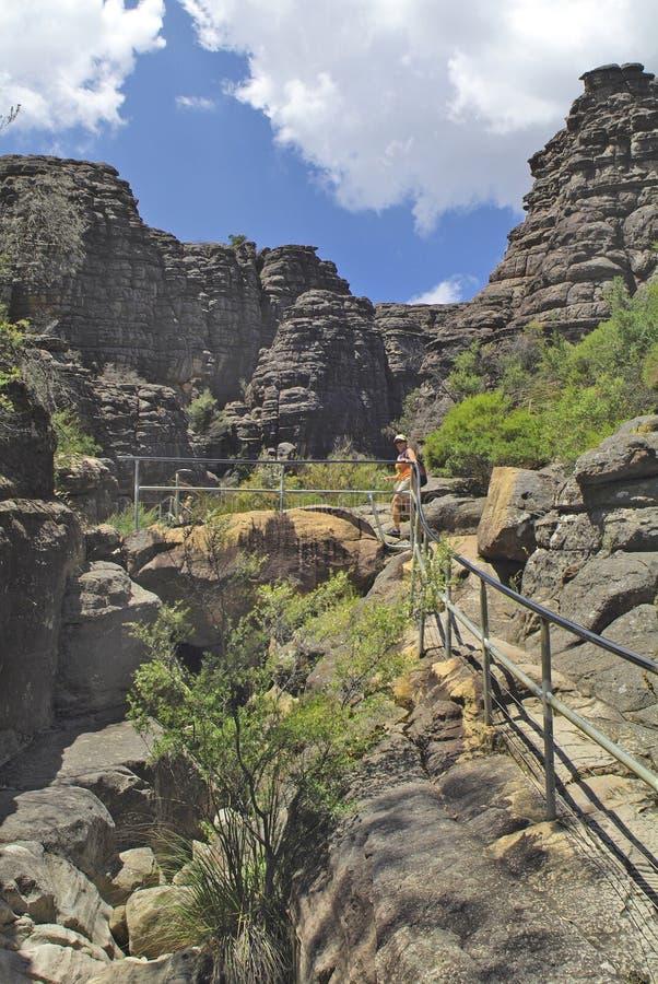 澳大利亚,比克, Grampians Nationalpark 免版税库存图片