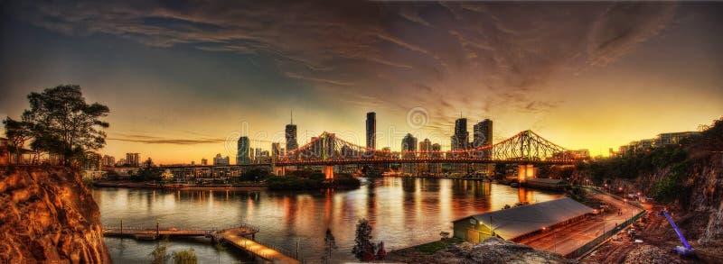 澳洲布里斯班 库存照片