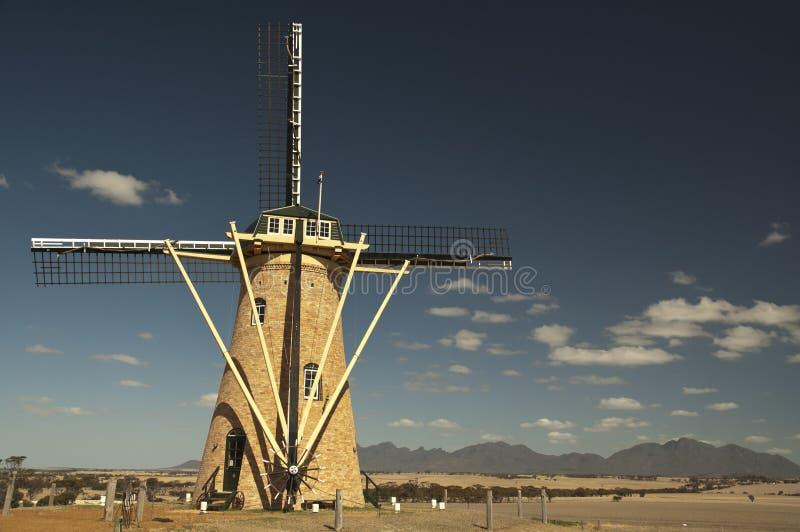 澳洲排列stirling风车 免版税图库摄影