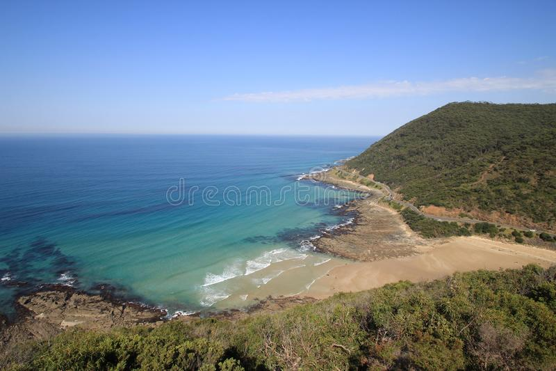 澳洲极大的墨尔本海洋路 免版税图库摄影