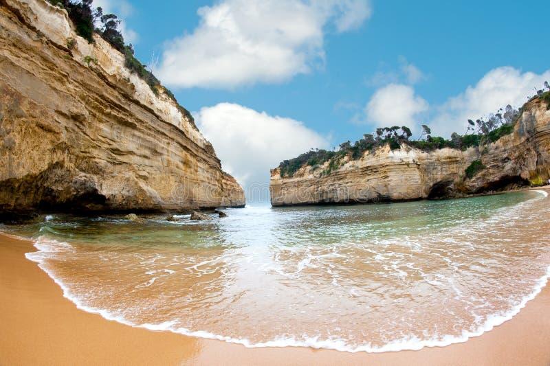 澳洲极大的海洋路 免版税库存图片