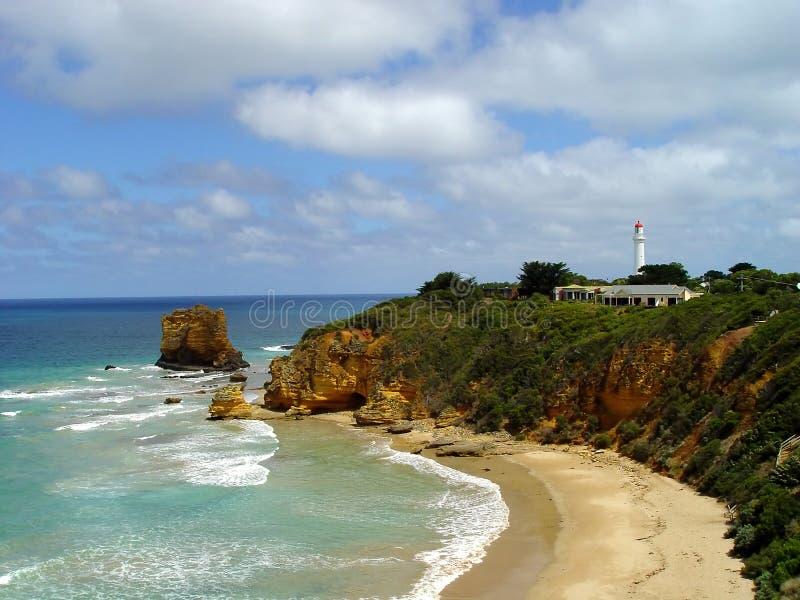 澳洲极大的海洋路 免版税图库摄影