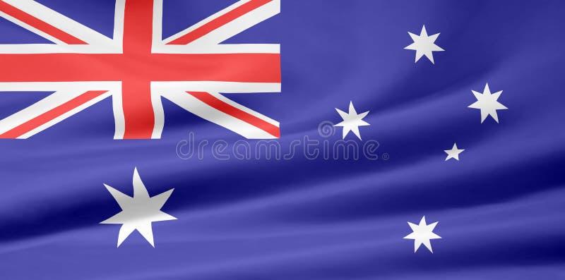 澳洲标志 库存例证