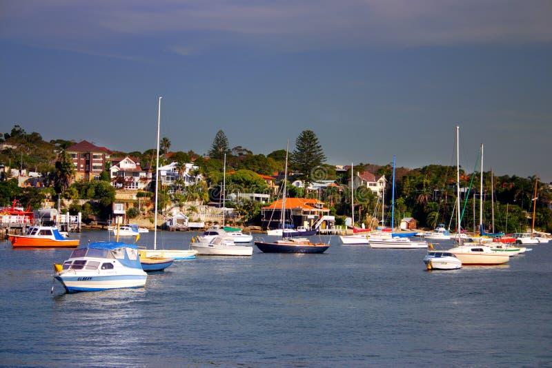 澳洲海湾nsw watsons 免版税库存图片