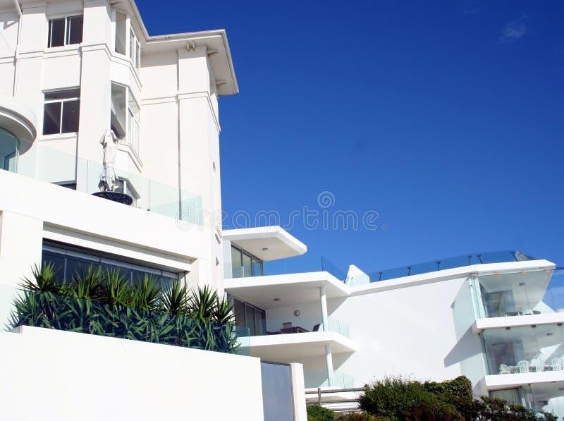 澳洲海滩bondi房子 免版税库存图片