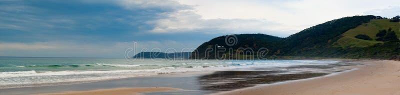澳洲海滩torquay 库存照片