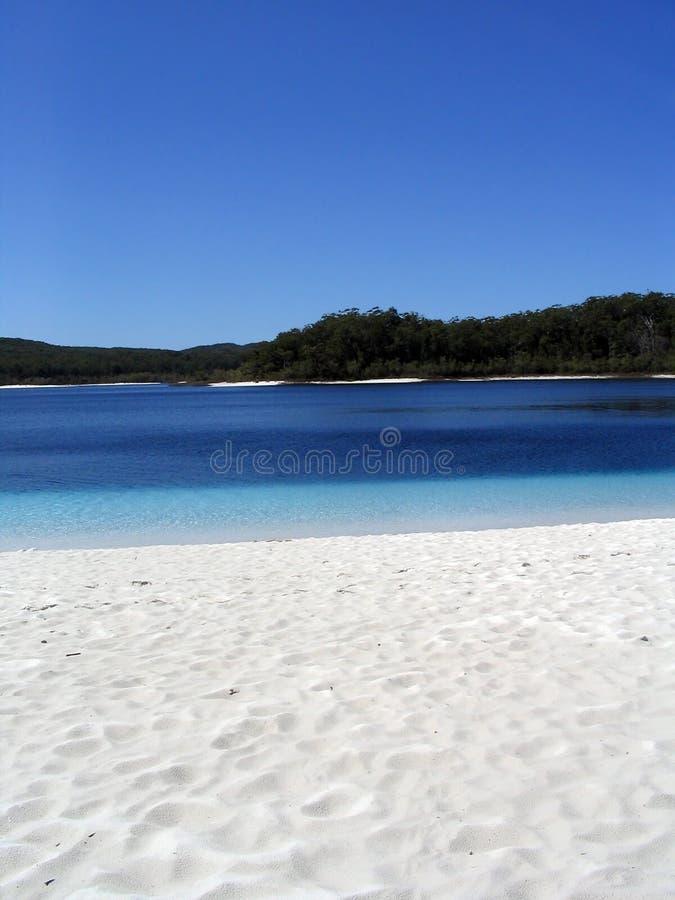 澳洲湖mckenzie 免版税图库摄影