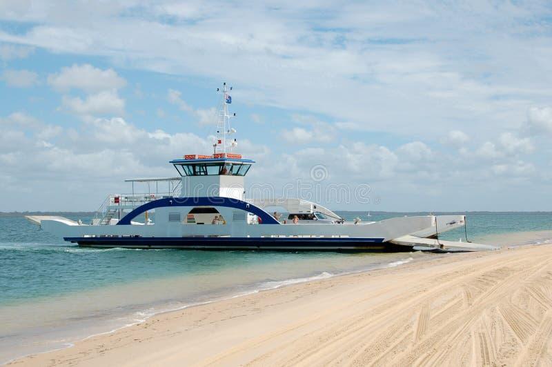 澳洲驳船fraser海岛 图库摄影