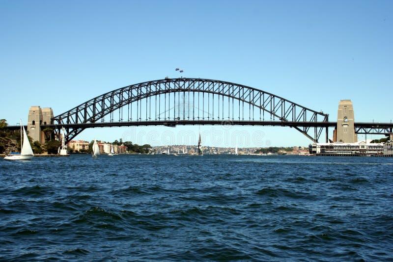 澳洲bridg港口悉尼 库存图片