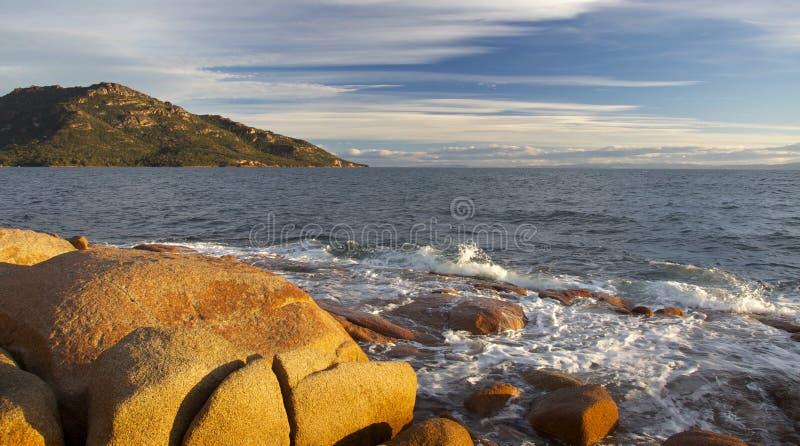 澳洲freycinet国家公园tas 图库摄影