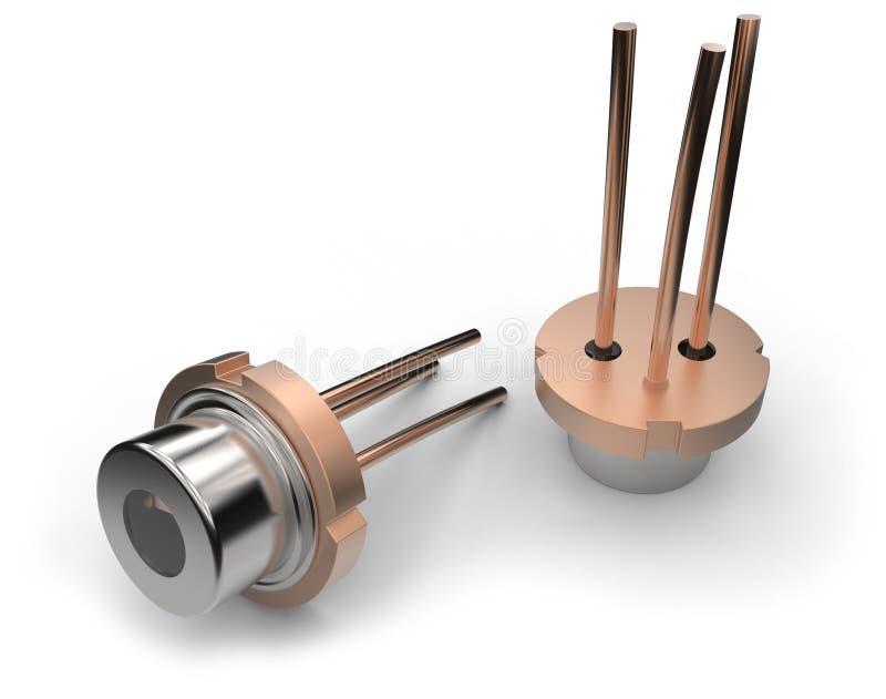 激光二极管 向量例证
