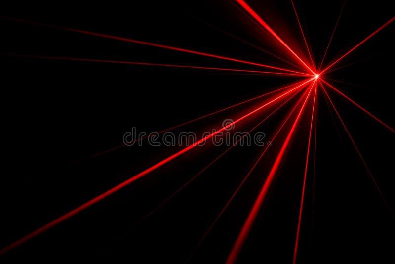 激光光线影响 免版税库存照片