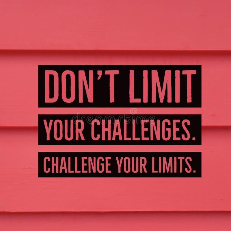 激动人心的诱导行情`唐` t极限您的挑战 质询您的极限 ` 库存图片