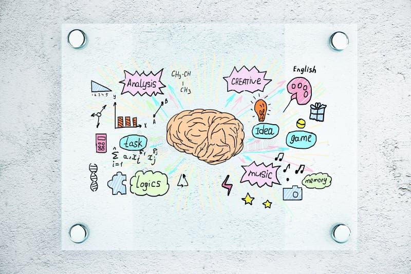 激发灵感概念 向量例证