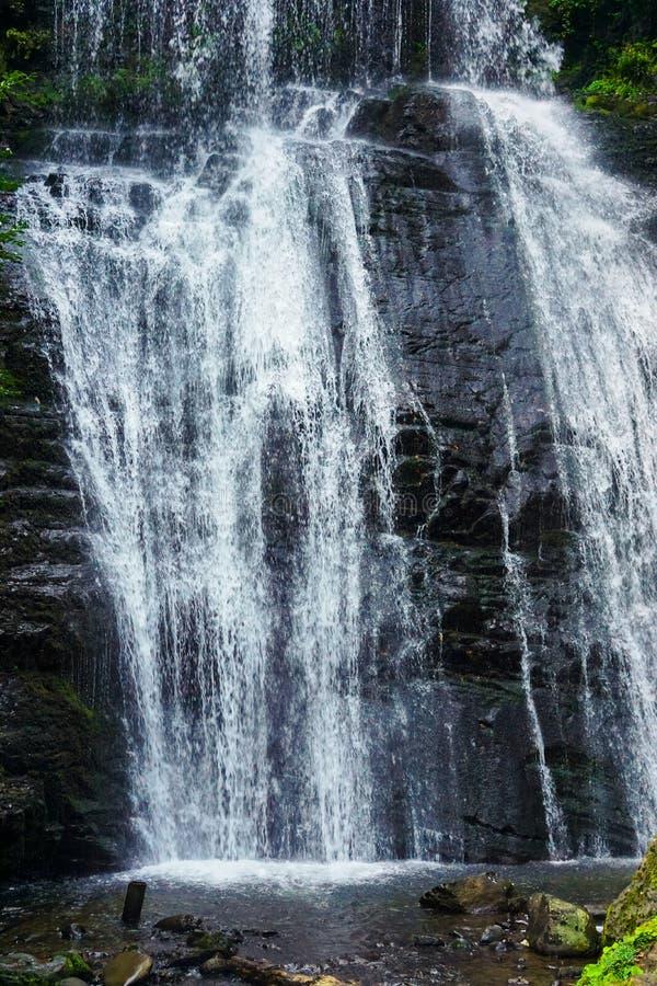 瀑布伊琳娜 东阿布哈兹 在特克瓦尔切利附近镇  Akarmara区 免版税图库摄影