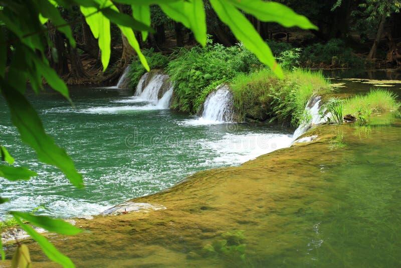 瀑布在泰国 免版税库存照片