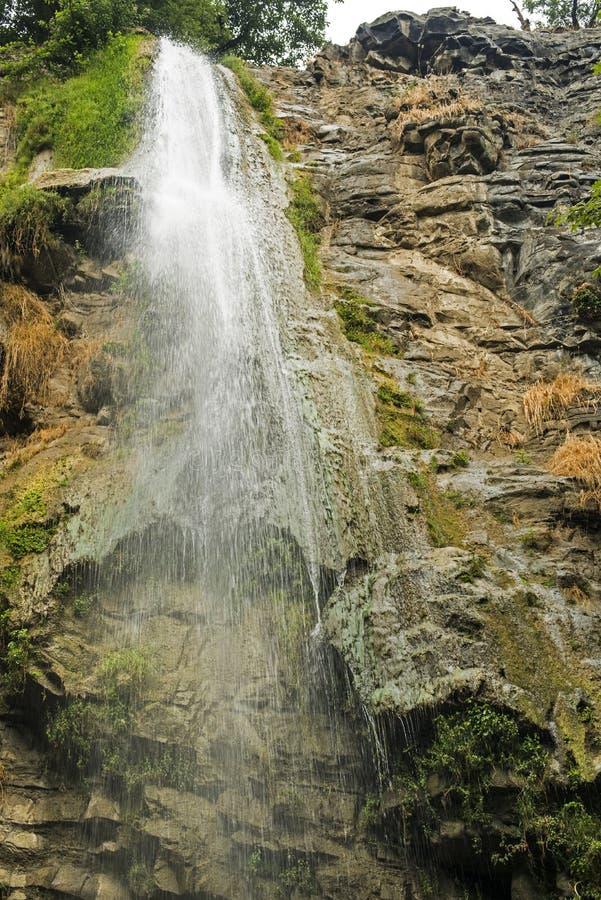 瀑布在阿塞拜疆 免版税图库摄影