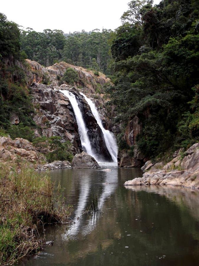 瀑布斯威士兰非洲 库存照片