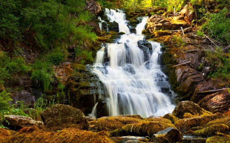 Download 瀑布 库存照片. 图片 包括有 beauvoir, 绿色, 木头, 阳光, 岩石, 没人, 植物群, 秋天 - 15677162