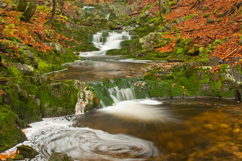Download 瀑布 库存图片. 图片 包括有 当前, 峡谷, 森林, 自然, 青苔, 模糊的, 新鲜, 颜色, 秋天, 冒险家 - 22351115