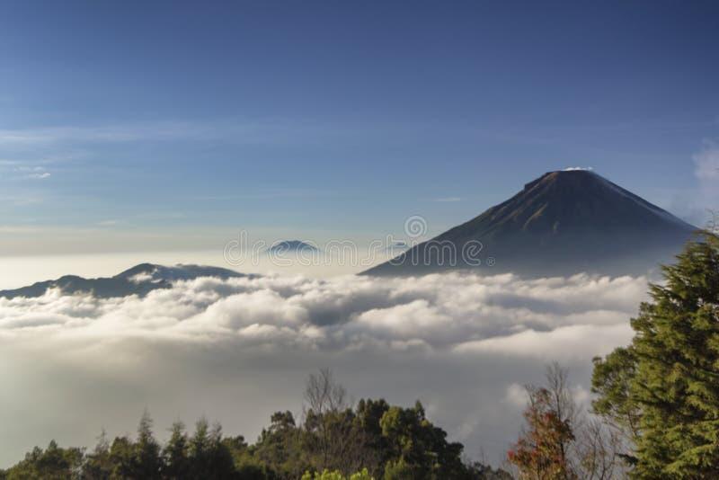 瀑布nangga ajibarang banyumas印度尼西亚 图库摄影
