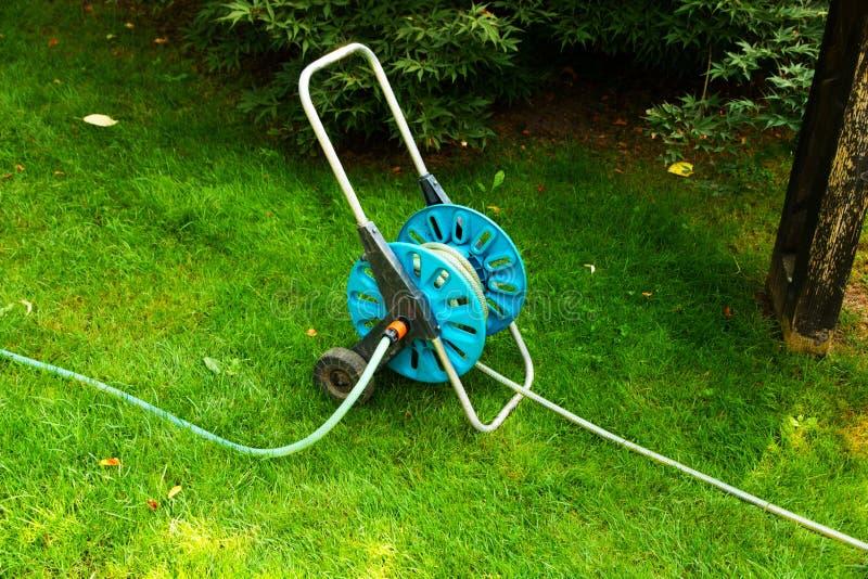 灌溉的水管 免版税图库摄影